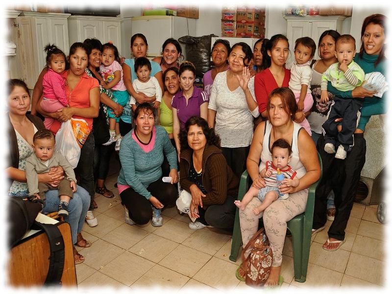 Asistencia a madres y niños en Villa 31