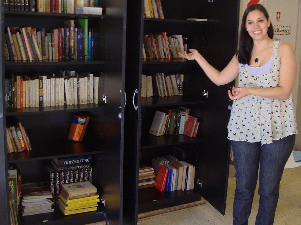 Fundación El Pobre de Asís - Centro de día - Biblioteca