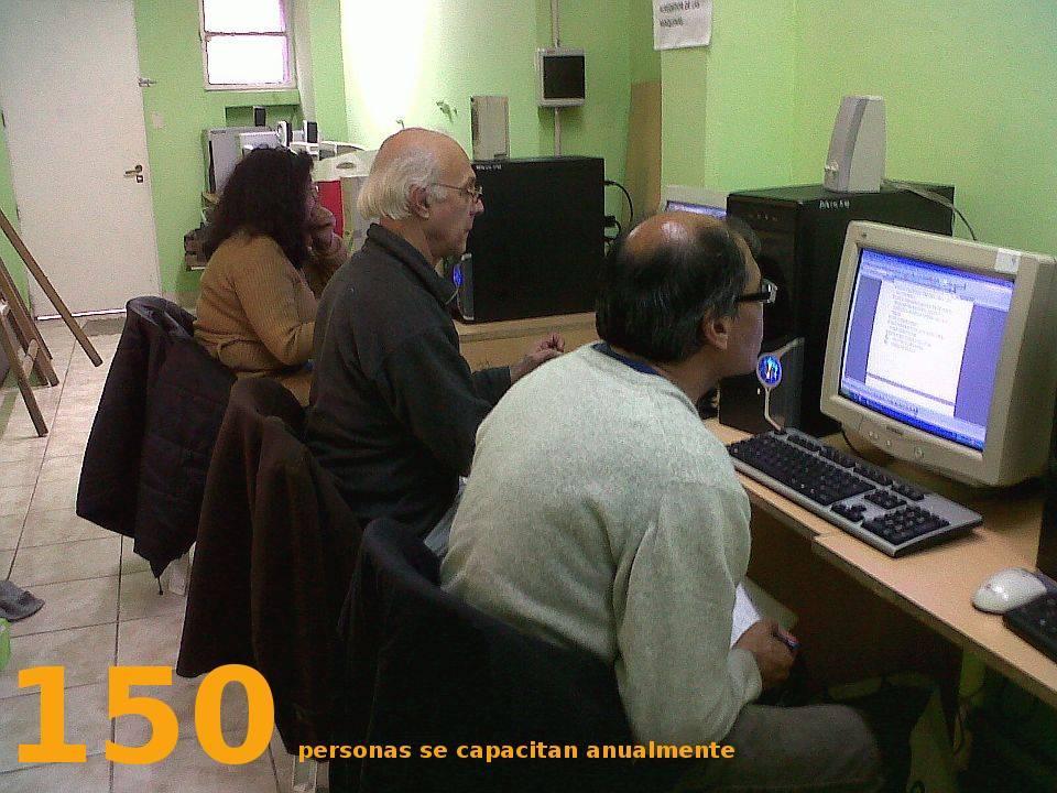 Capacitación de adultos - Fundación El Pobre de Asís